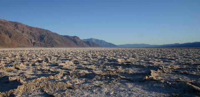 Death Valley NP salt flats